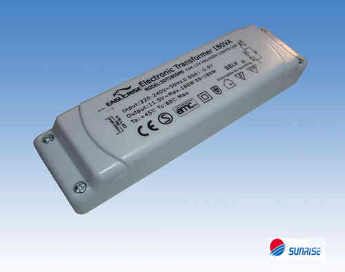Eaglerise / Sunrise SDT180SMS dimmable Halogen Transformer 11.5V~eff. / 50- 180W