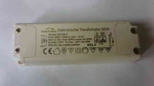 Eaglerise Halogen Transformer 11.5V~eff. / 20 - 60W