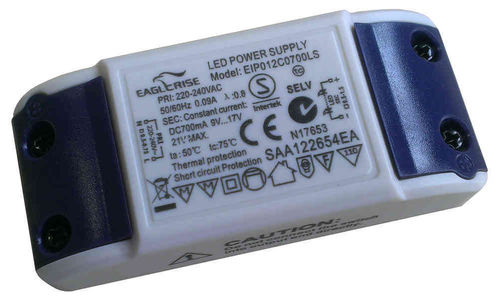 Eaglerise  EIP012C0700LS constant current 700mA / 9 - 17V LED Driver