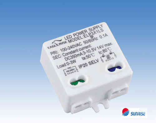 Eaglerise  ELP3x1LS constant current 350mA / 3 - 8V LED Driver
