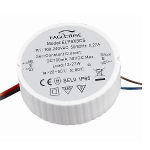 Eaglerise  ELP6x3CS constant current 700mA / 3 - 28V water proof LED Driver