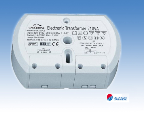 Eaglerise Halogen Transformer 11.5V~eff. / 50 - 210W