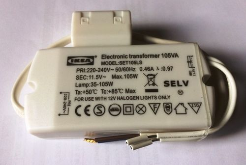 Eaglerise Halogen Transformer 11.5V~eff. / 35 - 105W
