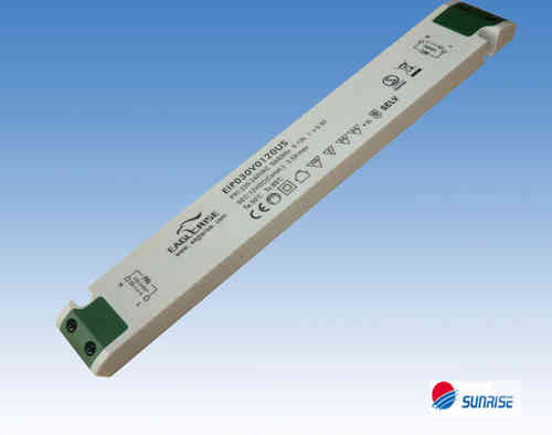Eaglerise  EIP030V0120U1 constant voltage 12Vdc / 2.5A LED Driver